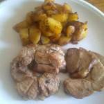 Arrosto di tacchino e patate al forno